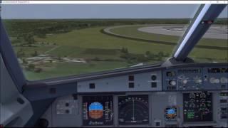 [P3D] Circular Runway Tests - A320