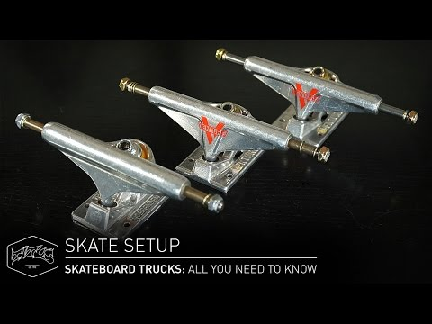 SKATEBOARD TRUCKS: All You Need To Know – Skate Setup | Titus