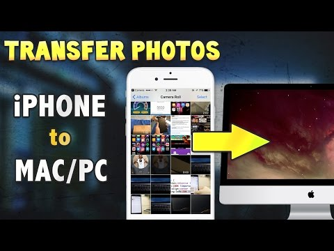 How to Transfer Photos from iPHONE to COMPUTER (Mac/PC) Without iTunes! (BEST METHOD 2016, iOS 10)