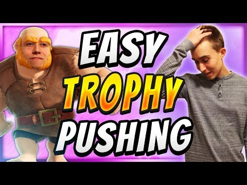 NERF THIS DECK! Giant Miner Trophy Pushing Deck — Clash Royale
