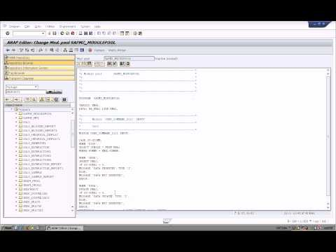 SAP-Module Pool  Normal