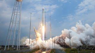 Range Issue Scrub - LIVE Orbital ATK Antares Rocket Cygnus OA-8 ISS Resupply Ship Launch