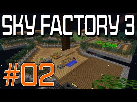 SkyFactory 3 - #2 Animals and Smeltery