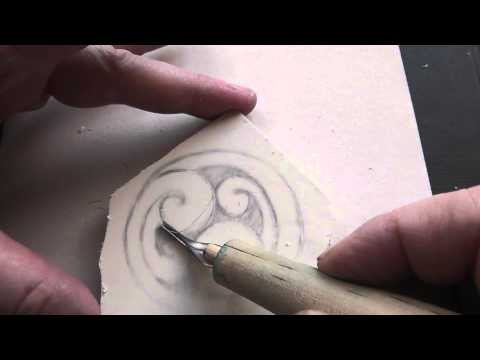 Stamp Carving Technique