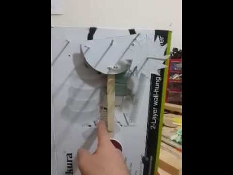 Home made . DIY pendulum clock . how works