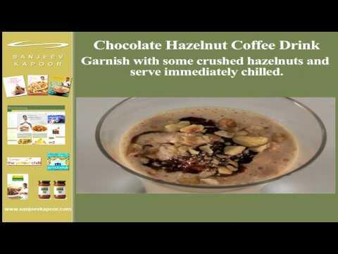 Chocolate Hazelnut Coffee Drink