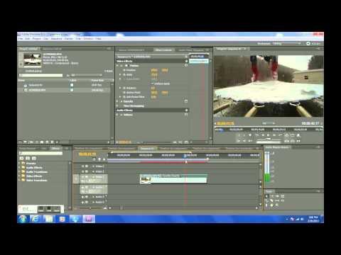 Adobe Premiere Pro Slow Motion Tutorial GoPro Hero3 Black Edition Video Camera 240fps