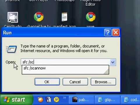 How to repair windows xp