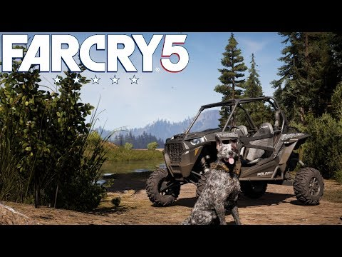 Discovering Far Cry 5 in a 2018 Polaris RZR! (Beauty of Far Cry 5!)