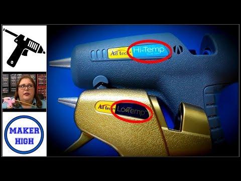 High Temp, Low Temp, or Dual - What kind of glue gun should you buy?