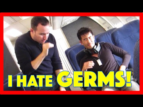 HOW TO AVOID SICK COLD FLU GERMS TRAVELING ON PLANE?! ABChrisLee HEALTH # 1