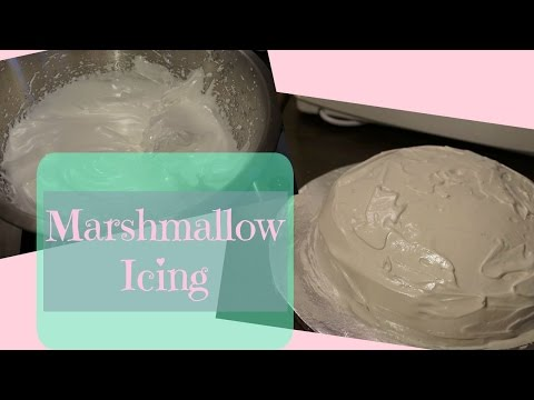 How to Make Marshmallow Icing
