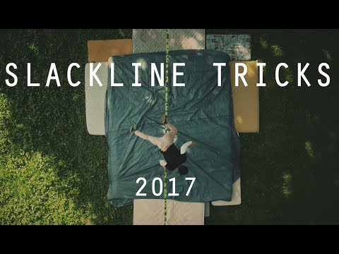SLACKLINE TRICKS - Jumpline session [4K]