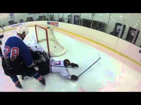 New York Rangers Charity game at the SoNo Ice House in Norwalk