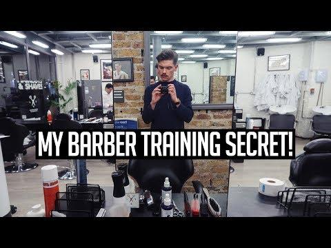My Big Secret... I'm Becoming A Barber!