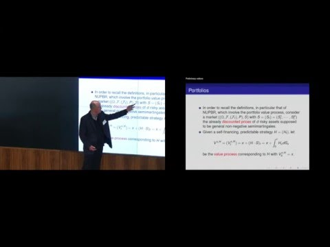 Wolfgang Runggaldier - Optimal arbitrage and portfolio optimization for market models ...