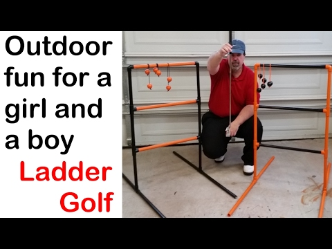 Make a Ladder Golf Game (how to)