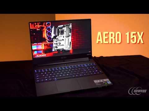 Newegg Insider: GIGABYTE's Aero 15X Laptop brings the 8th Gen 1070 Goodness