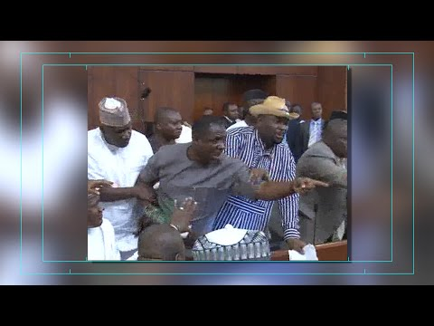Chaos In The Nigeria House Of Representatives