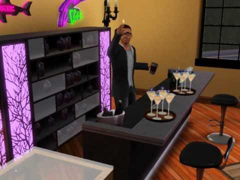 Sims 3 Late Night Mixology