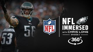 Fly, Eagles, Fly 🦅 | Chris Long Ep. 3 | NFL Immersed | 360° Video