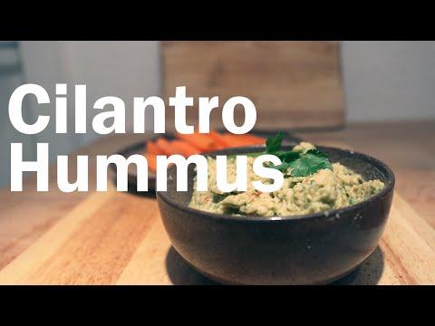Cilantro Hummus | Flavor Lab