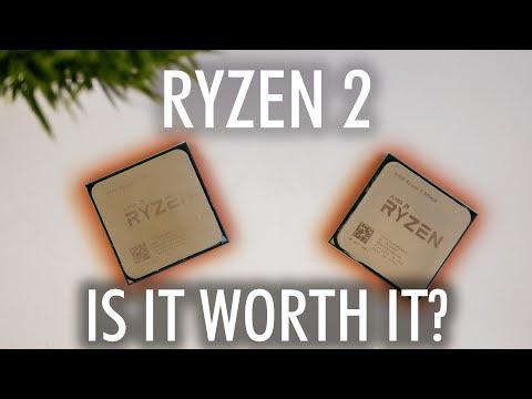 Ryzen 2700X & 2600X - Is Ryzen 2 Worth It?