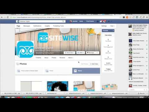 How-to-upload-photos-to-facebook-and-obtain-url-with-business-page