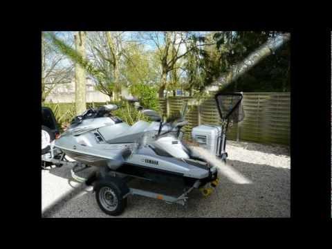 Jet ski peche  fishing rig home made video