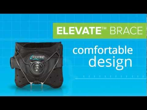 Drop Foot Brace - Elevate Brace for Dropped Foot