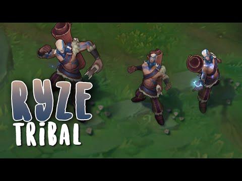 Ryze Tribal (Refonte) Aperçu Skin League of Legends