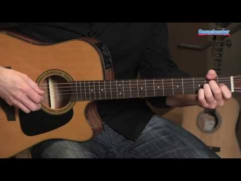 Takamine GD30-CE Dreadnought Cutaway Acoustic-electric Guitar Demo - Sweetwater Sound
