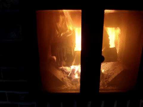 My Finnish Masonry Heater in Action