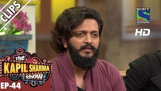 Ritesh Deshmukh discuss the care of Babies  - The Kapil Sharma Show - Ep.44-18th September 2016