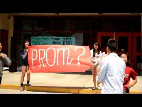 How to Ask a Girl to Prom with Dance