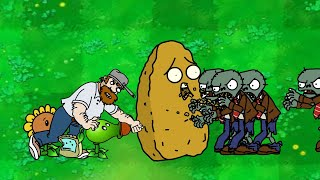 Dhannu's PLANTS vs ZOMBIES - Episode 19 - Zombies Attack Part II Animation!