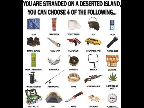 Food For Thought Friday:  Deserted Island Kit