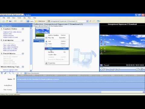 How To Make YouTube Videos HD Using Windows Movie Maker (Windows XP)