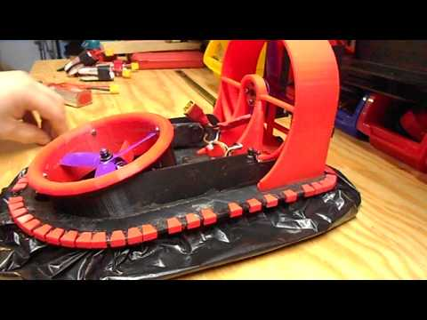 Basic Assembly of the 3D Printed R/C Hovercraft
