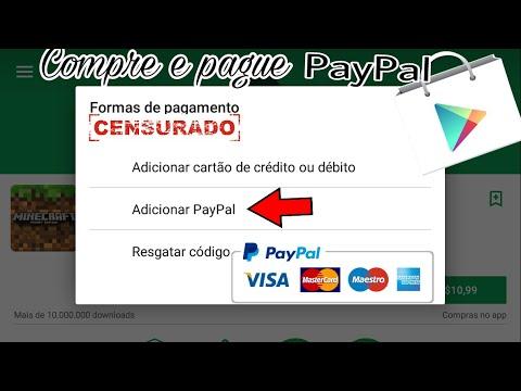 Como Compra - Jogos, apps  Na Play Store e Pagar Via Paypal Pelo Android Metodo 2018