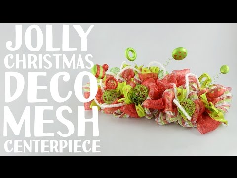 Jolly Christmas Centerpiece