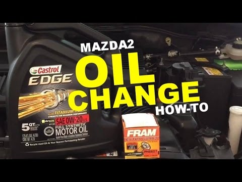 Mazda2   Oil Change How-To
