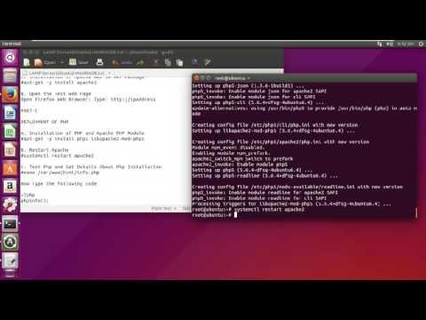 Configuring LAMP Server in Ubuntu Server 15.04 (Linux, Apache, MariaDB, Php) & PhpmyAdmin