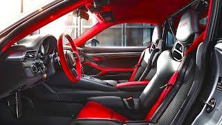 Porsche 911 GT2 RS INTERIOR Weissach package 2018 GT2 RS INTERIOR New Porsche 911  CARJAM TV HD