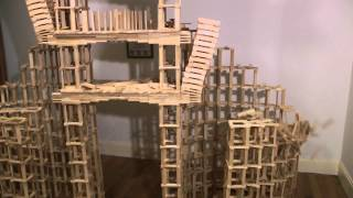 HTK#38 - Kapla large bridge domino