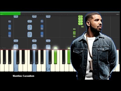 Drake - God's Plan Piano Tutorial - Cover - How To Play