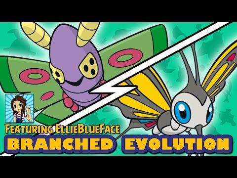 Dustox vs Beautifly | Pokémon Branched Evolution (ft EllieBlueFace)