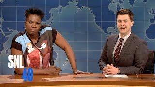 Download Weekend Update: Leslie Jones on Crazy Bitches - SNL Video