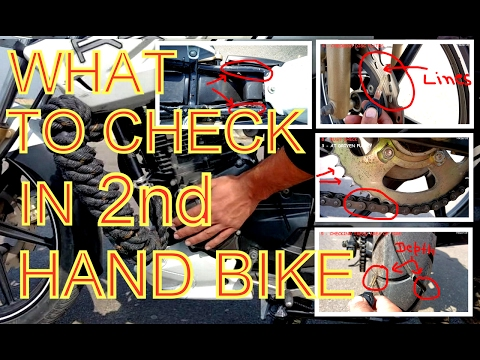What to Check in 2nd Hand Motorcycle ( 10 CHECKS )