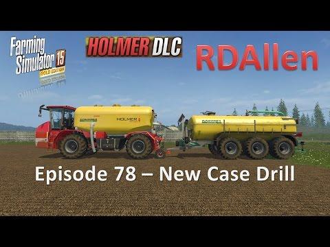 Farming Simulator 15 Gold Edition Sosnovka E78 - New Case Seed Drill